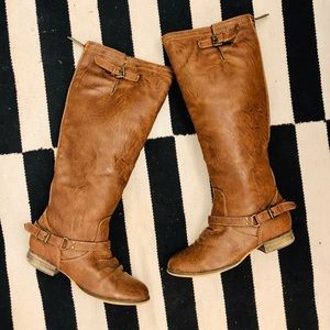 Breckelle's Riding Boots in Brown- Size 7